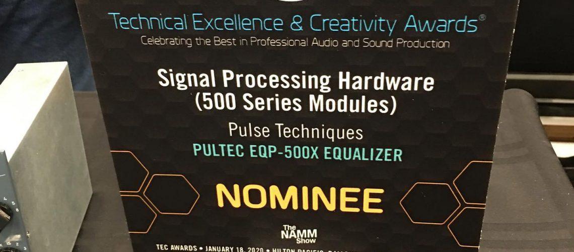 TEC Award Plaque